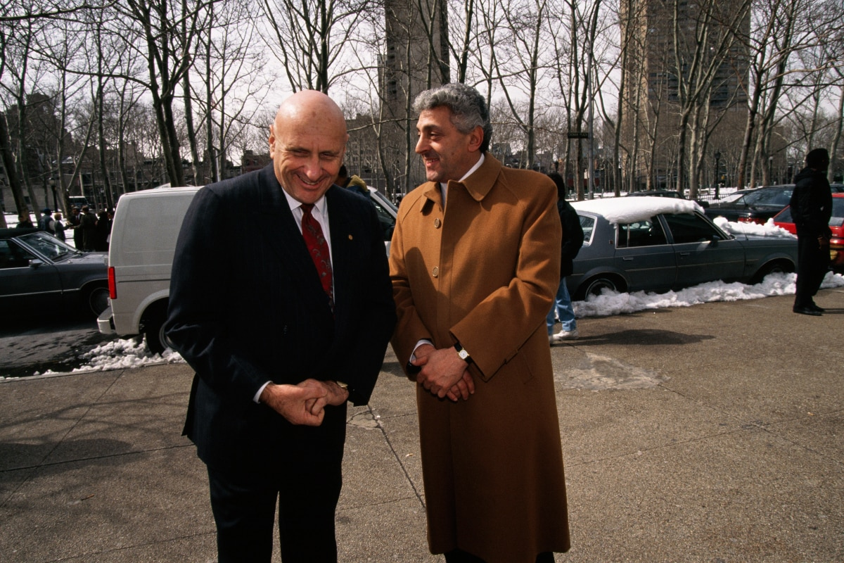 Giovanni Riggy y John D'Amato
