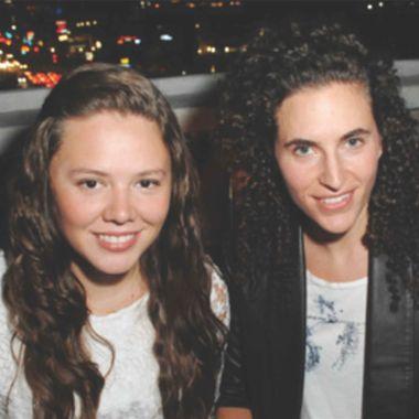 parejas lésbicas icónicas joy huerta diana atri