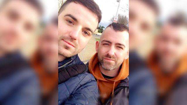 hombres homofobia video
