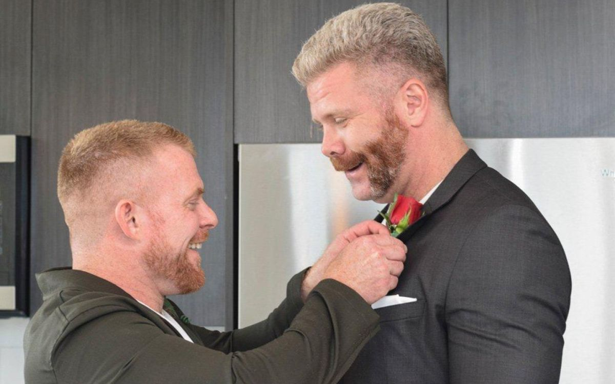 Actor Porno Espontanea actores de porno gay se casan durante la cuarentena