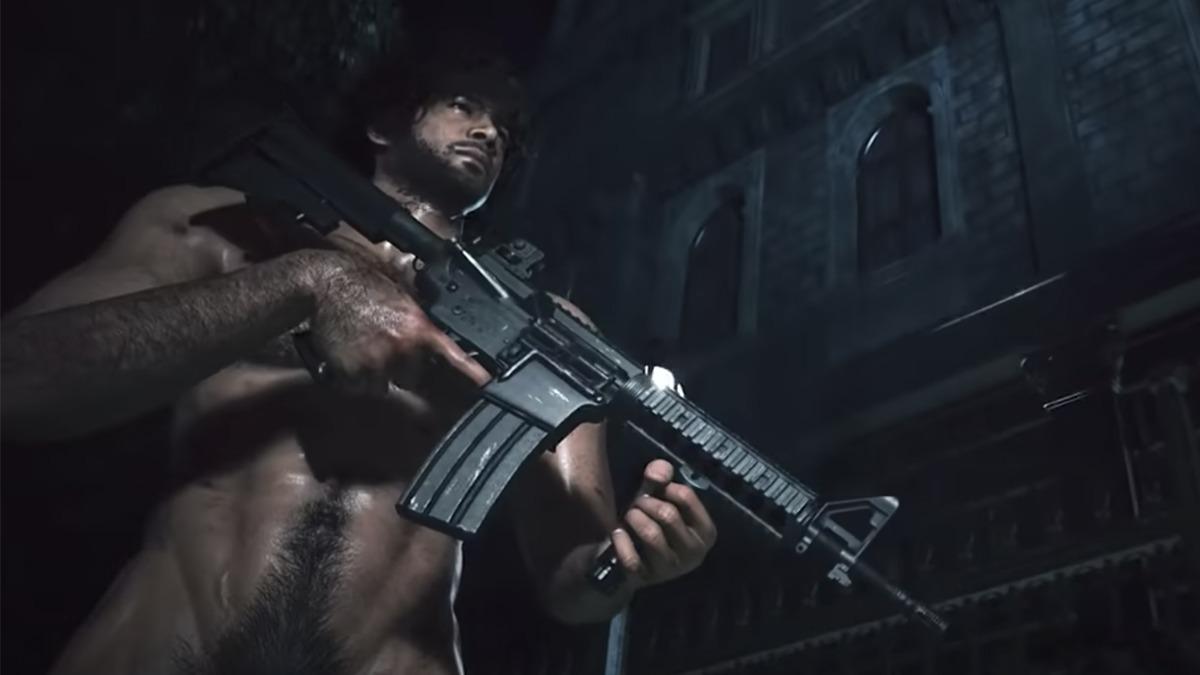 Carlos Oliveira De Resident Evil 3 Sin Ropa Homosensual