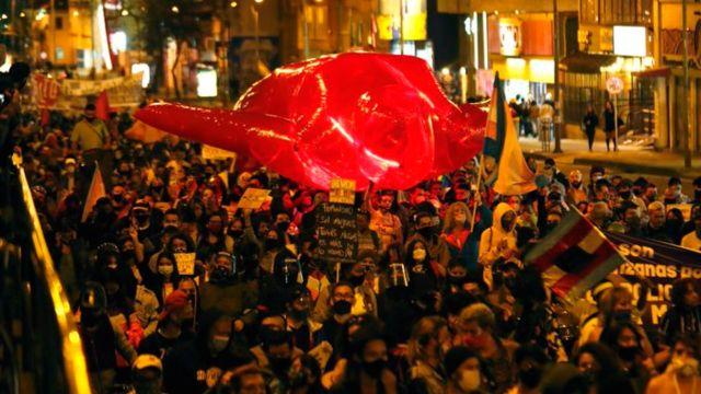 marcha trans violencia