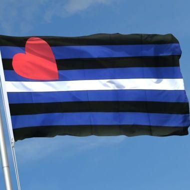 bandera orgullo leather