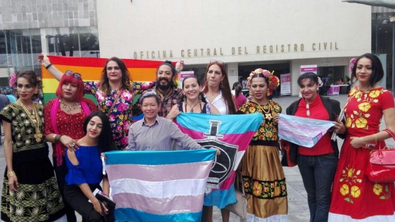 Personas beneficiadas por la Ley de identidad de Género en CDMX
