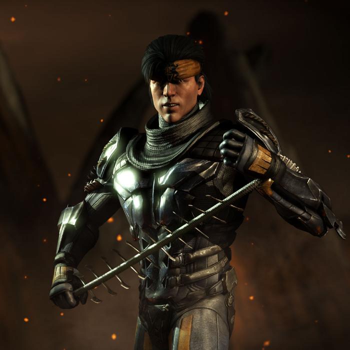 Takeda es un personaje de Mortal Kombat