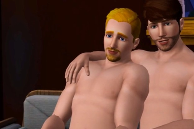 puedes hacer personajes lgbt en the sims