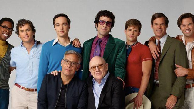 Algunos de los actores gay que aparecerán en The Boys in the Band.
