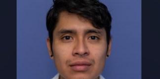 Aldahir Jiménez, activista en huelga de antirretrovirales