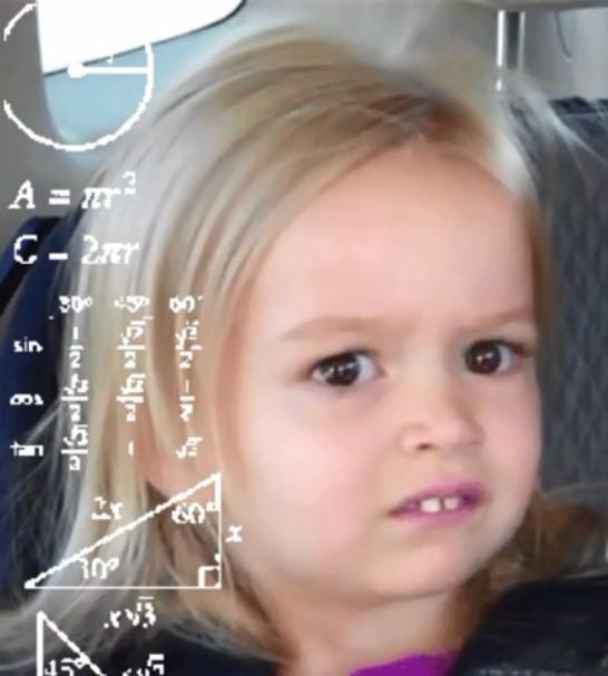 niña calculando