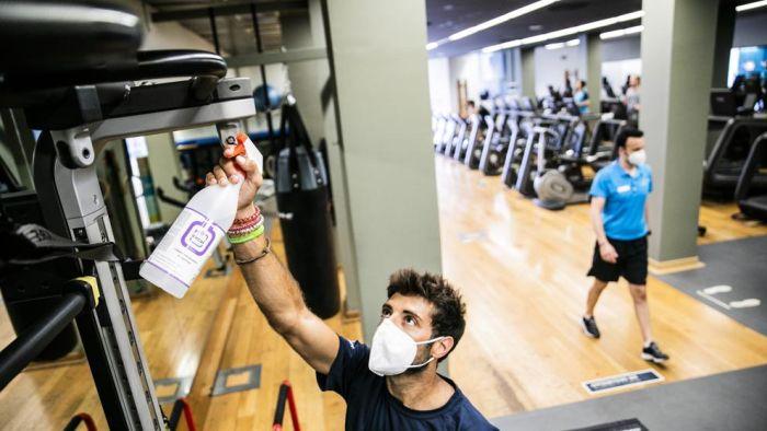 Los gimnasios en CDMX abrirán durante la pandemia con nuevas medidas.