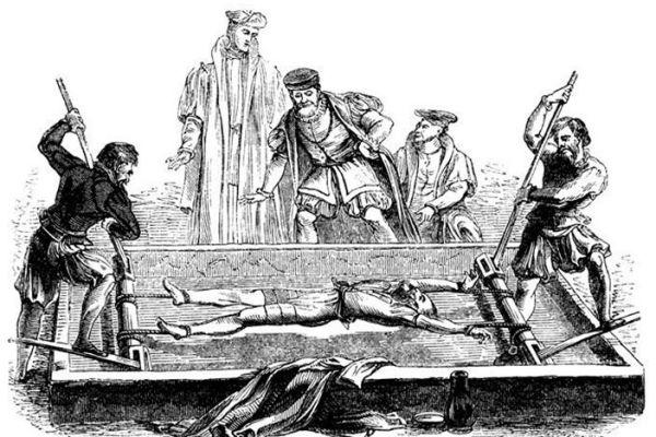 Una de las formas de tortura con la que se castigaba a la homosexualidad antes de la Independencia de México.