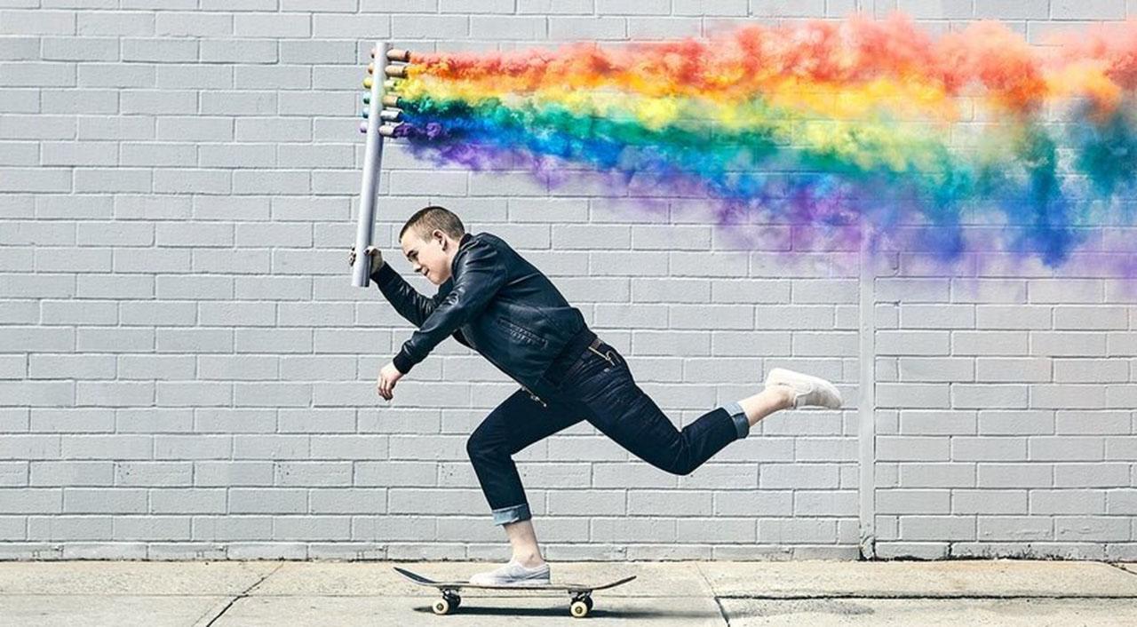 Leo Baker es el patinador no binario que aparecerá en el último juego de Tony Hawk.