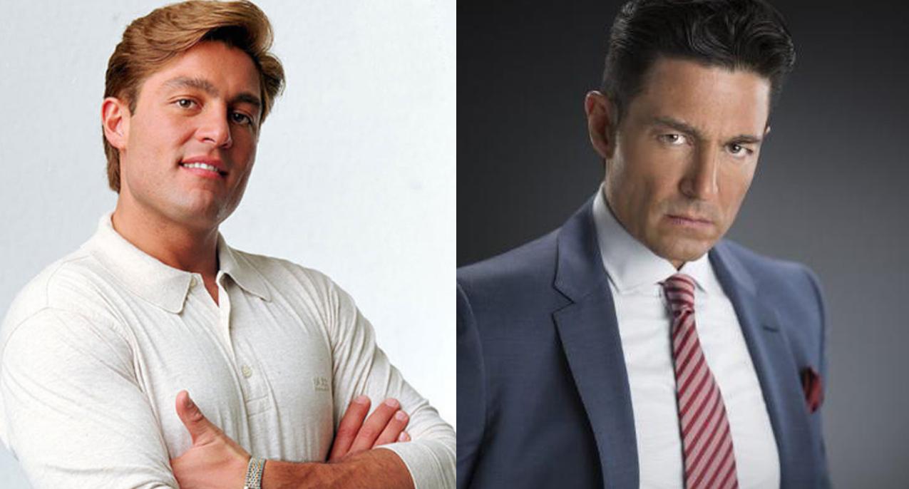 Fernando Colunga antes y después de galanes de telenovela de los años 90