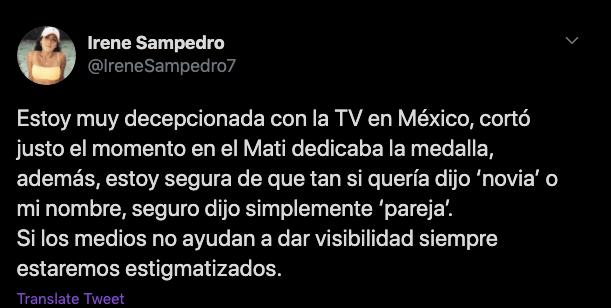 Comentario sobre la homofobia de TV Azteca.