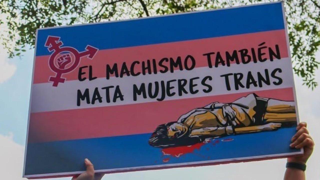 Machismo mata mujeres trans