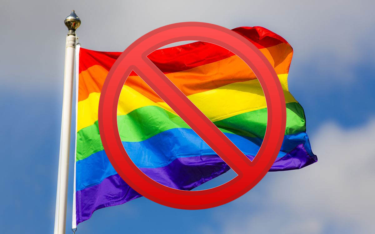 Marcas que no soy gay friendly
