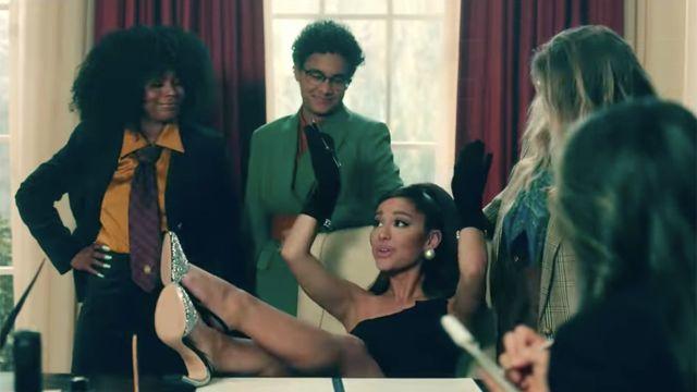 Ariana grande positions video musical amigos