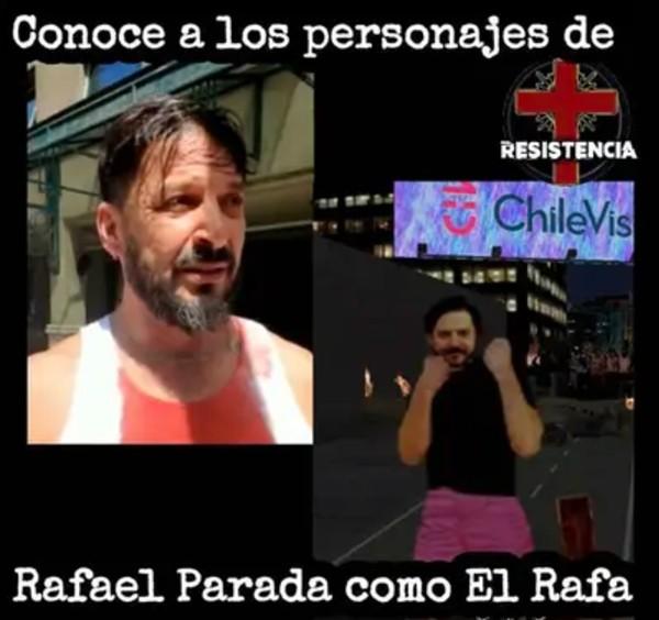 Personaje de Resistencia Rafael Cavada