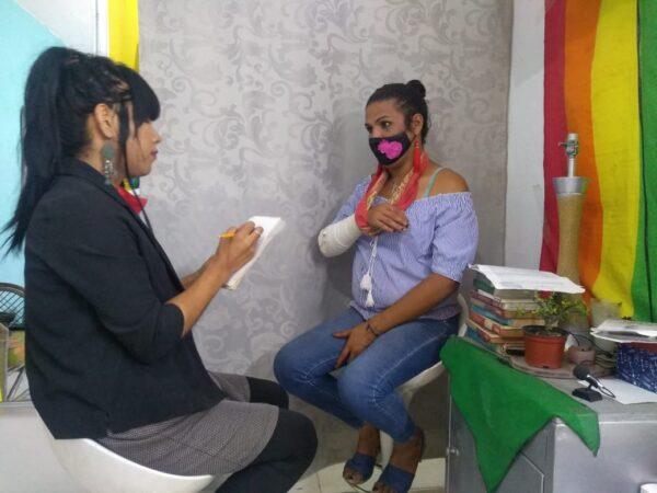 yazz bustamante entrevista mujer transgenero