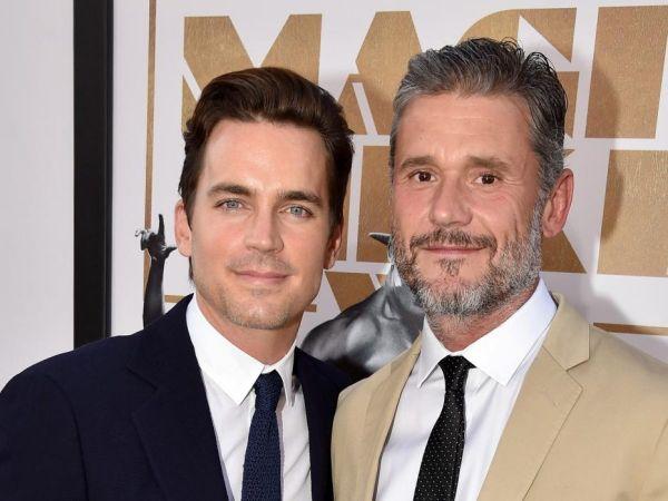Simon Halls esposos sexis famosos gays