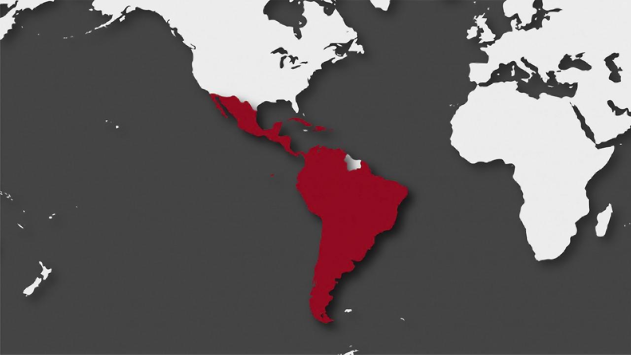 países Latinoamérica más casos VIH