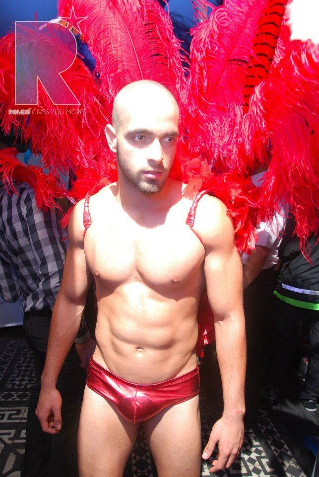 Sebastián Tamayo era bailarín en un antro gay