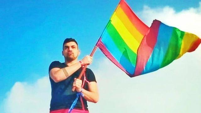 Alan Calabrese jugador gay de rugby