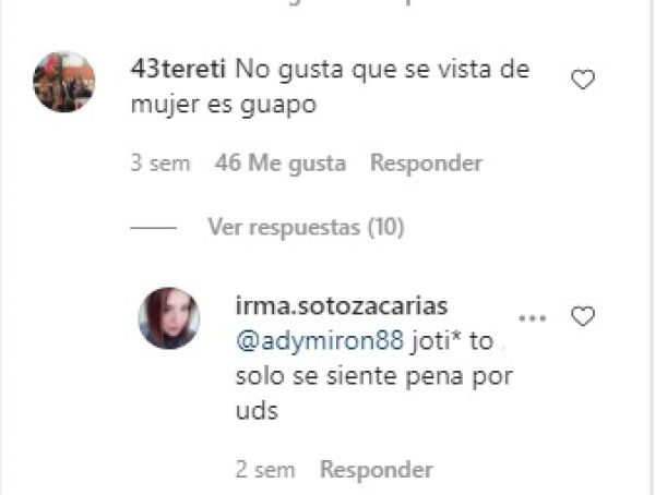 comentarios al video del hijo de Erika Buenfil