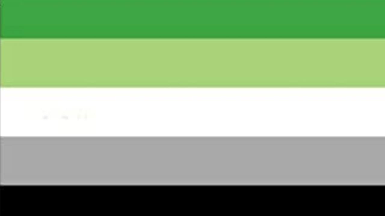 espectro arromántico lgbt bandera orientación sexual