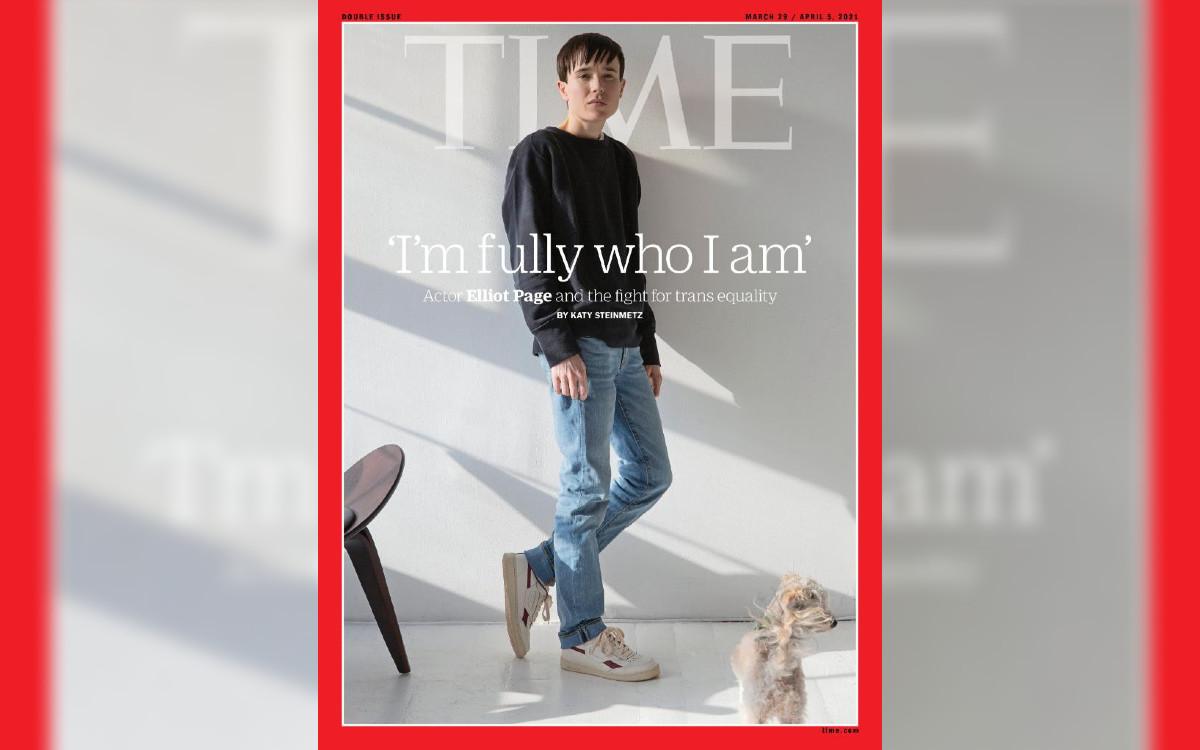 Elliot Page Time portada