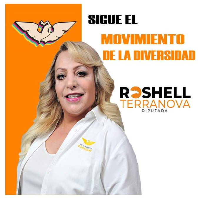 Roshell Terranova candidatos LGBT+ elecciones México 2021