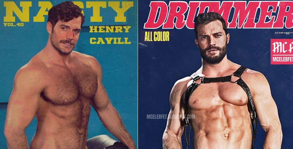 actores famosos como portadas de revistas de porno gay