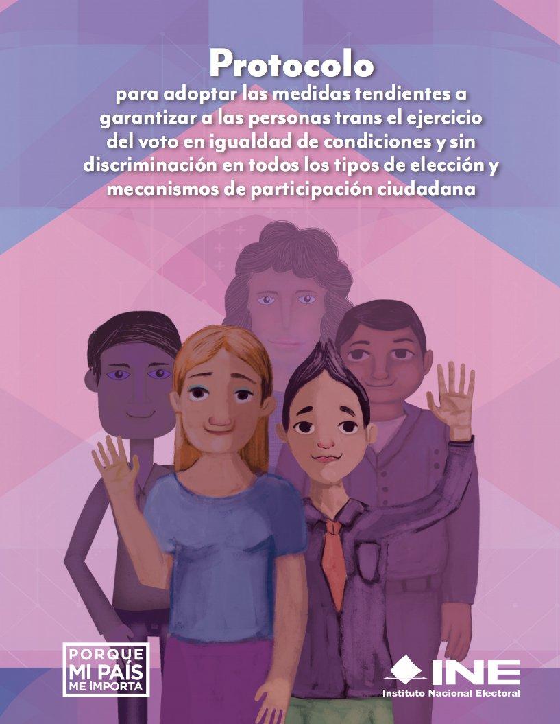 protocolo ine personas trans participación ciudadana
