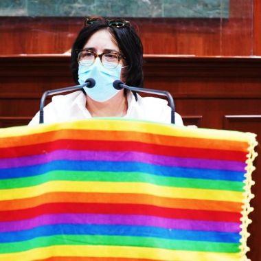 Karla Montero diputada lesbiana del Congreso de Sinaloa