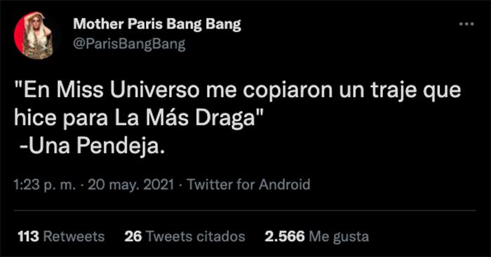 paris bang bang miss universo