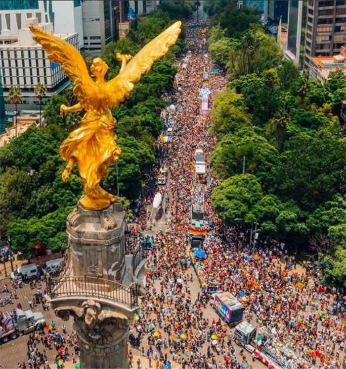 angel marcha del orgullo lgbt 2021