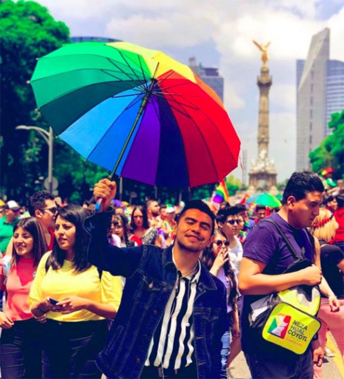 mes orgullo lgbt celebracion SOMBRILLA