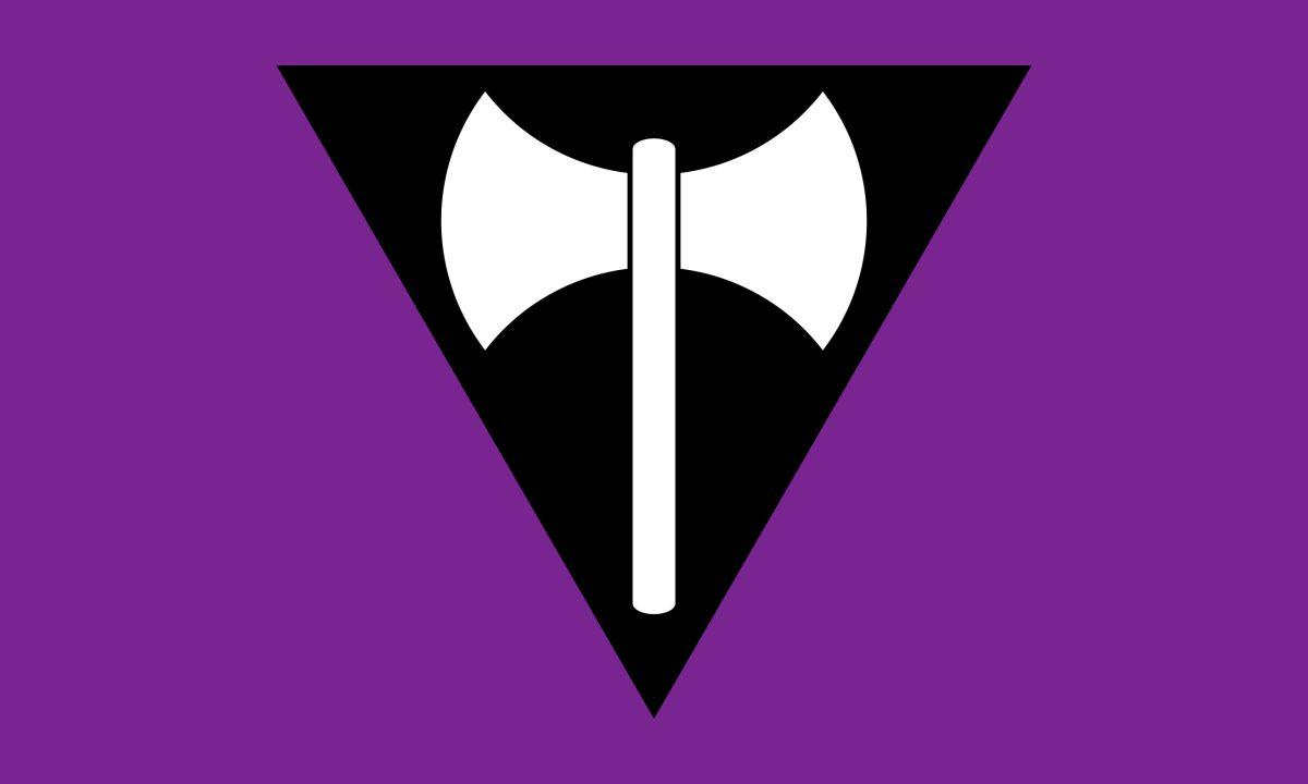 banderas lésbicas historia