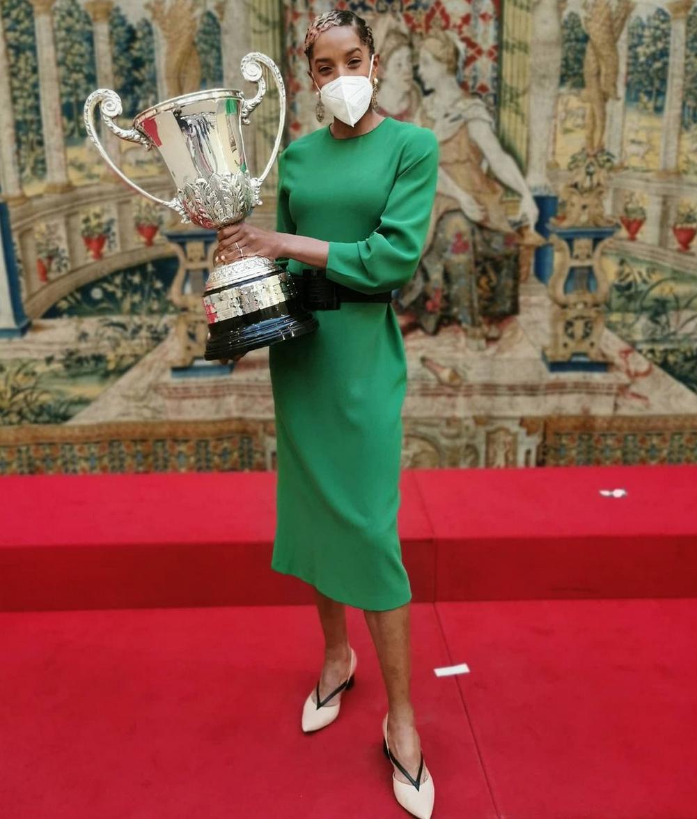 Yulimar Rojas atleta trofeo España