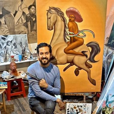 Obras homoeróticas de Fabián Cháirez