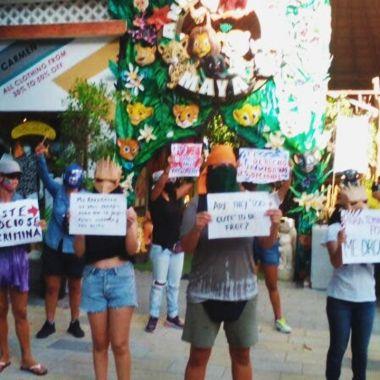 Discriminación contra lesbiana en Animalandia Maya Playa del Carmen