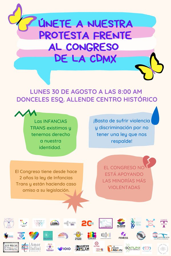 Ley de infancias trans de CDMX
