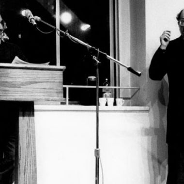 Nicanor Parra y Allen Ginsberg
