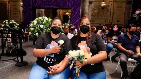 primera boda colectiva incluyente luz lucía puebla homofobia