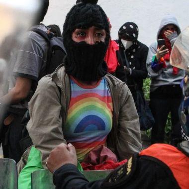 Gobierno de Claudia Sheinbaum realizarepresión de activistas LGBT+ en CDMX