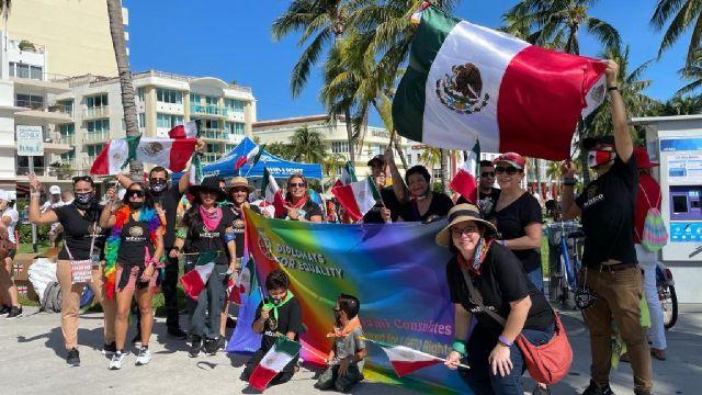 Consulado de México asiste a festival LGBT+ Miami Beach Pride