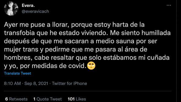 even cancún grupo vidanta transfobia twitter