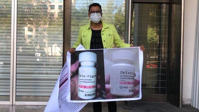 IMSS receta medicamento Delstrigo a pacientes con VIH