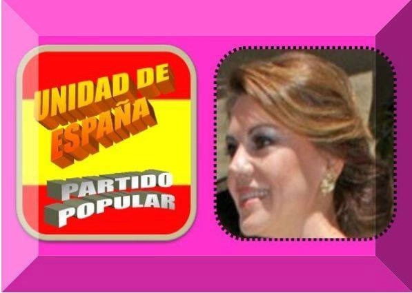 La ex presidenta de Castilla-La Mancha, como Cancerbero, garante de que nadie entre y salga de España