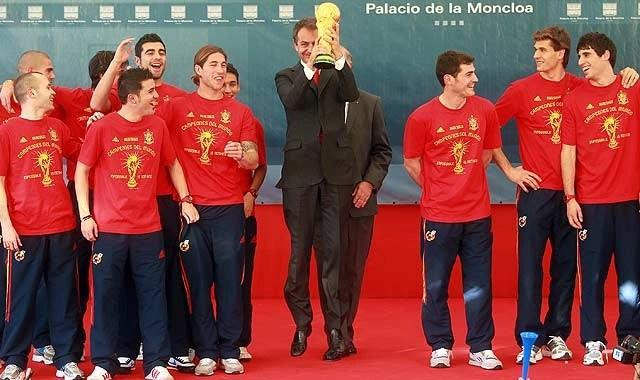 Zapatere y la copa del mundial